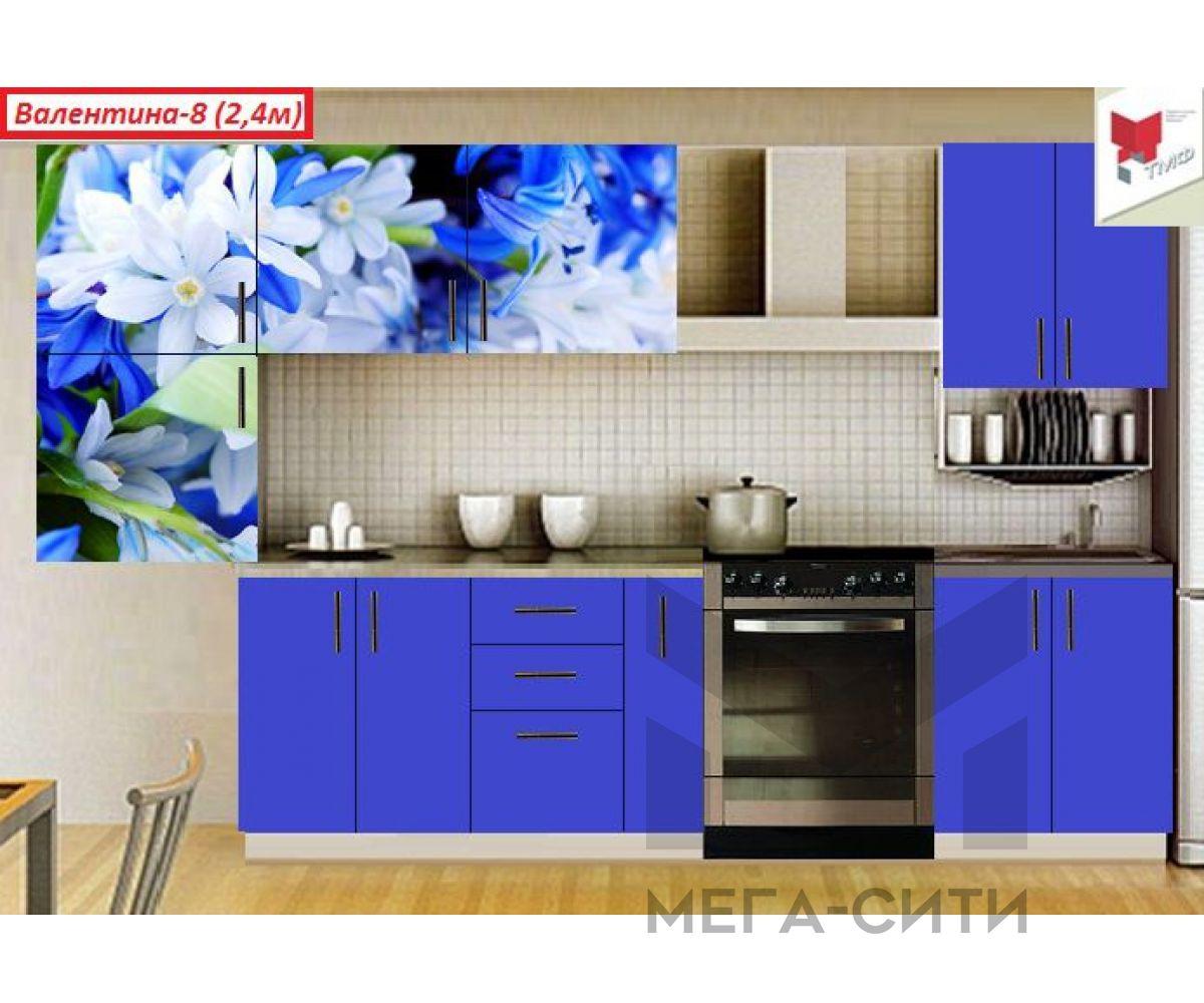 Кухня  с фотопечатью Валентина №8
