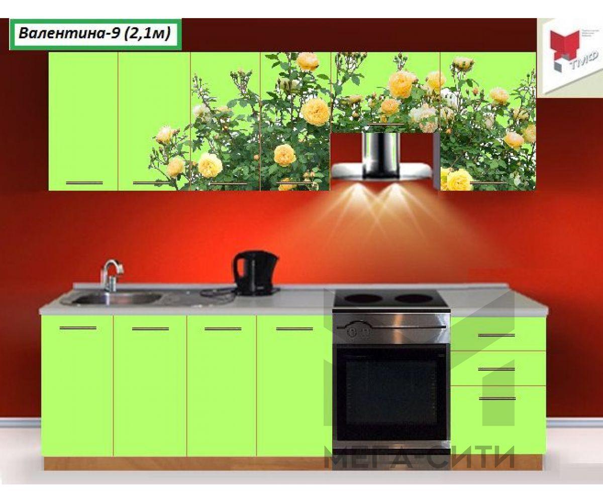 Кухня с фотопечатью  Валентина №9