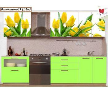Кухня с фотопечатью  Валентина №17
