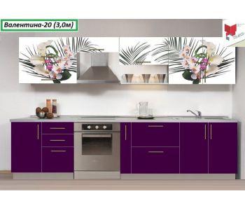 Кухня с фотопечатью  Валентина №20