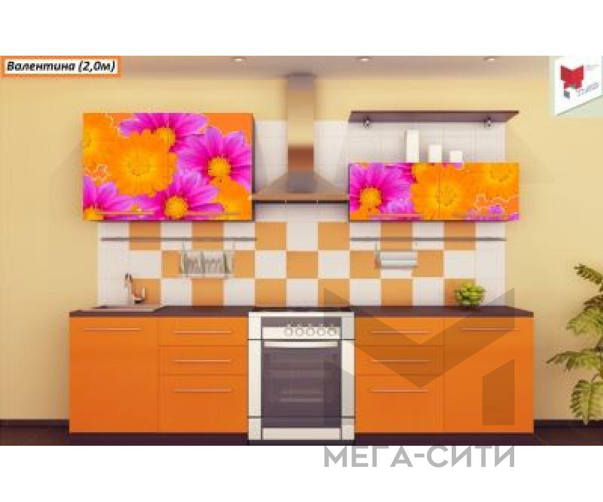 Кухня  с фотопечатью Валентина