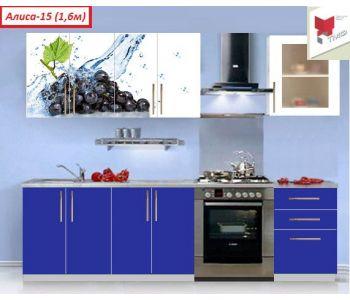 Кухня с фотопечатью   Алиса №15 ХИТ Продаж