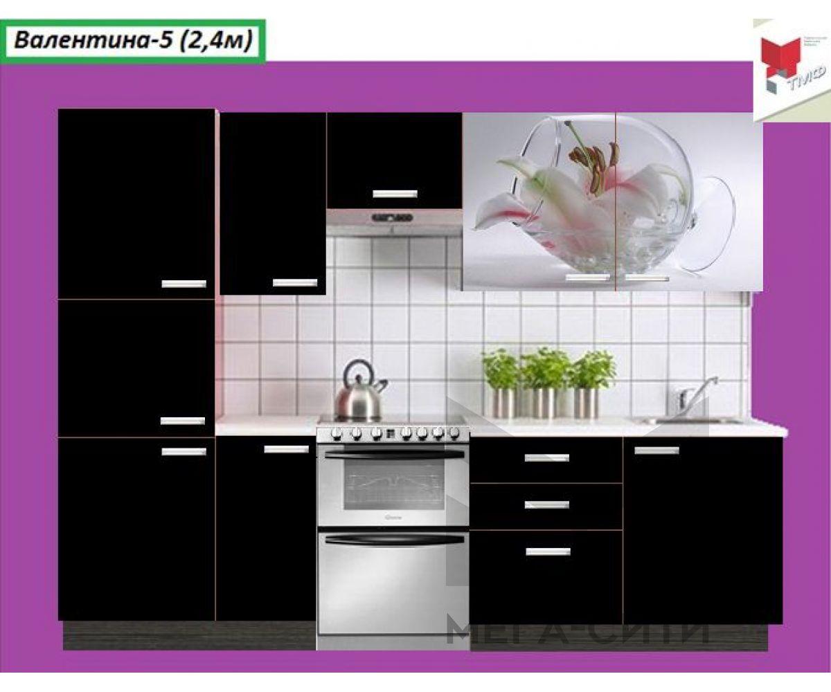 Кухня  с фотопечатью Валентина №5