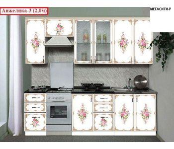 Кухня  с фотопечатью Анжелика 3