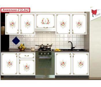 Кухня  с фотопечатью  Анжелика 2
