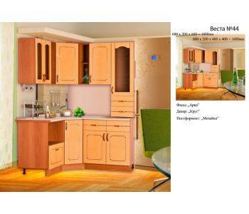 Кухонный гарнитур МДФ  эконом Веста 44