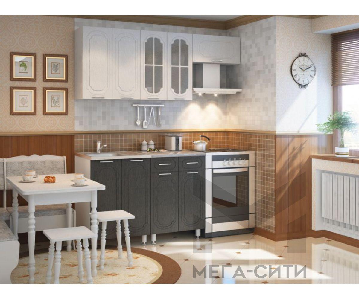 Кухонный гарнитур МДФ   глянец эконом Надежда 6