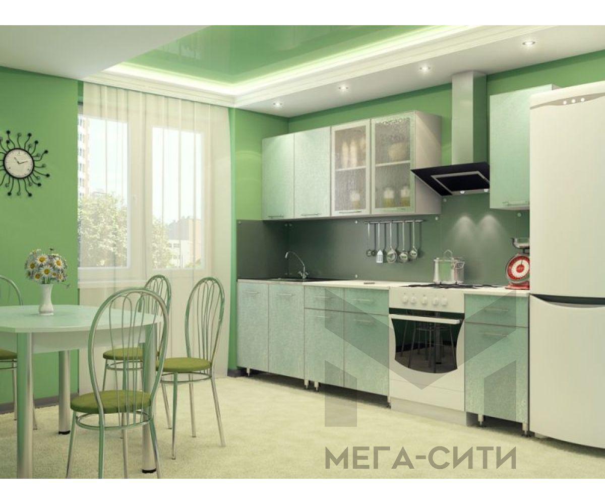 Кухонный гарнитур МДФ   глянец эконом Надежда 12   2 метра