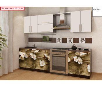 Кухня с фотопечатью  Валентина 27 1,8м