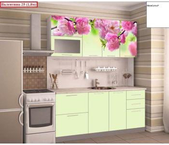 Кухня с фотопечатью  Валентина 25 1,8м