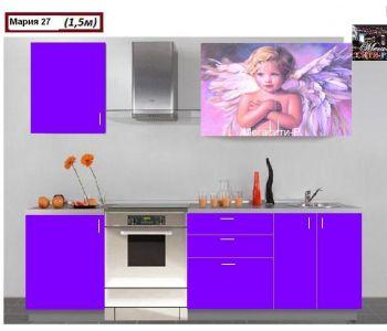 Кухонный гарнитур с фотопечатью Мария 27