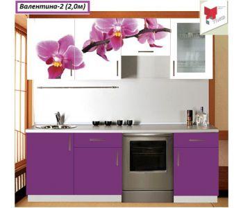 Кухня  с фотопечатью Валентина 2