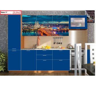 Кухонный гарнитур с фотопечатью Нина 17     3 м