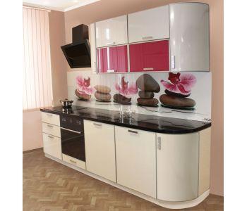 Кухонный гарнитур  из пластика Алесса 2,7м