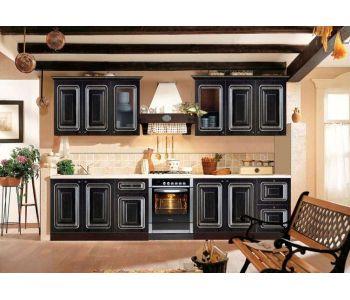 Кухонный гарнитур с патиной  Александра 2,4 м Патина