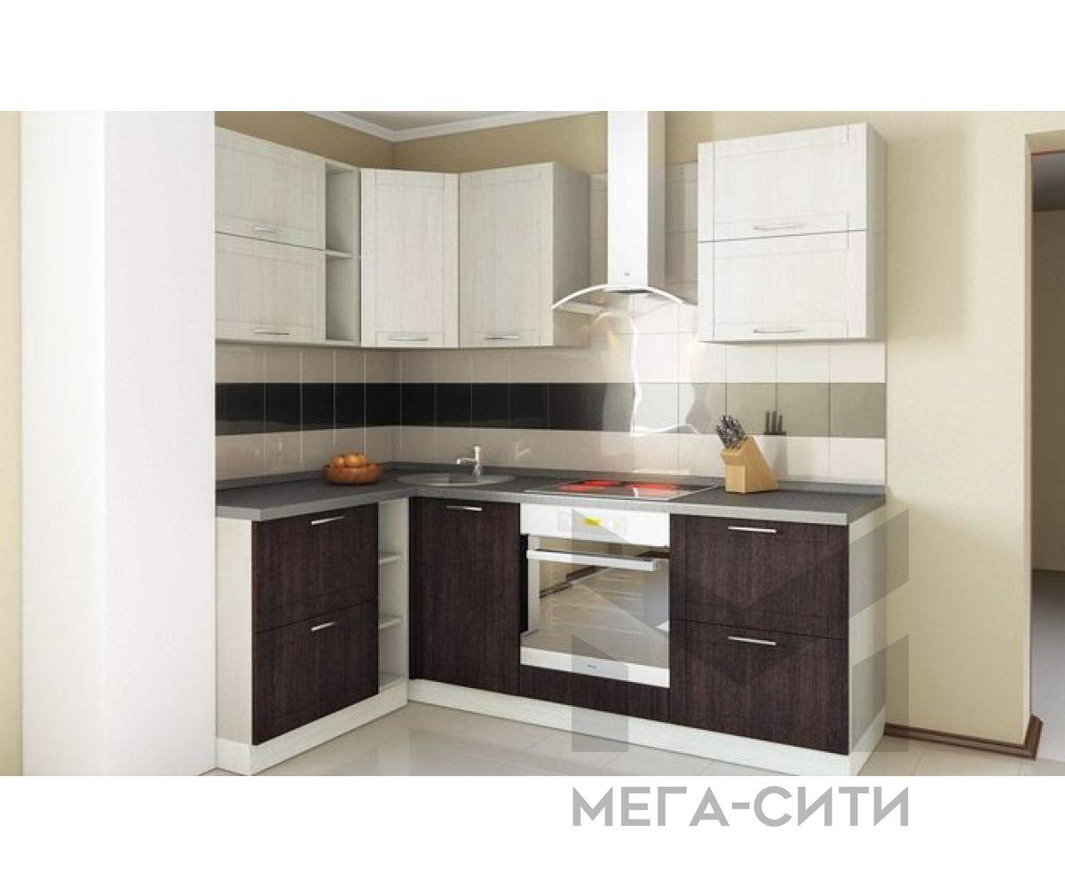 Кухонный гарнитур МДФ  Августа  1.4*2.2 метра