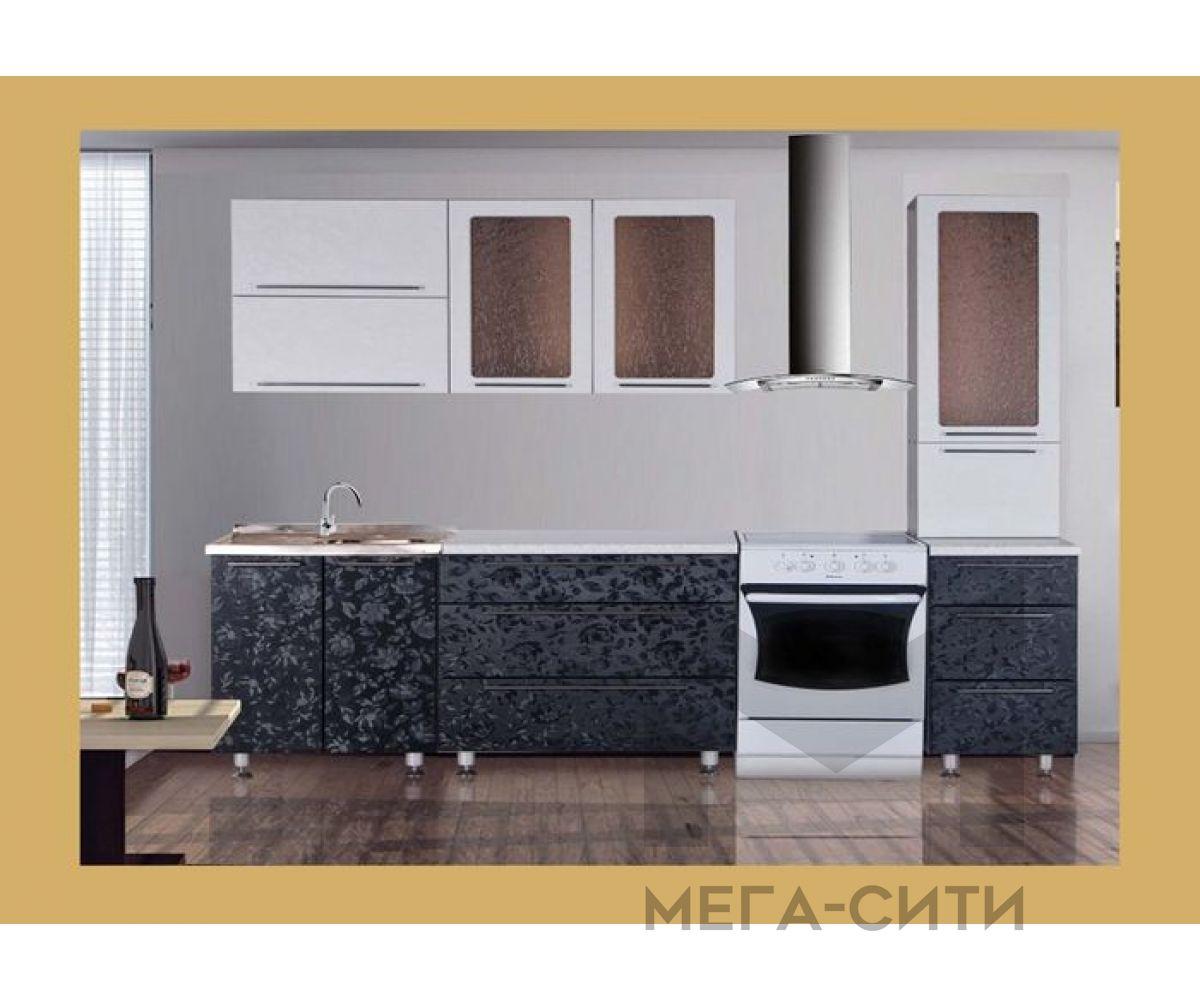 Кухонный гарнитур из пластика Сакура-20.  2,2 м