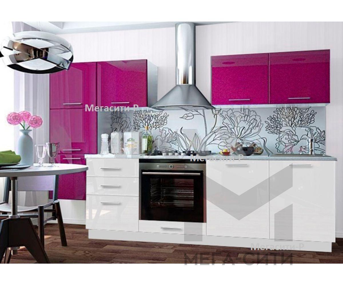 Кухонный гарнитур,глянцевая кухня