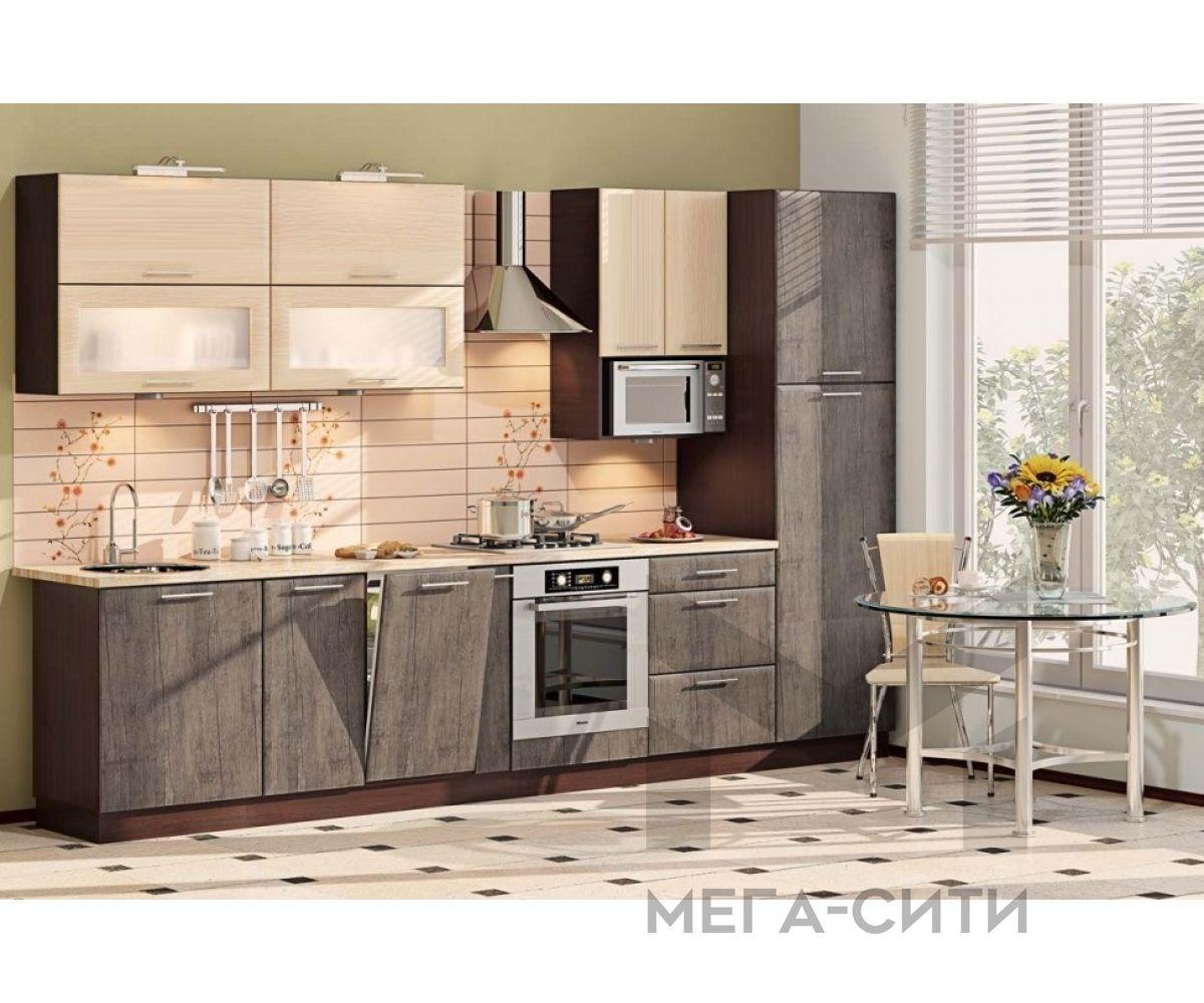 Кухонный гарнитур МДФ Далия (3,0 м)