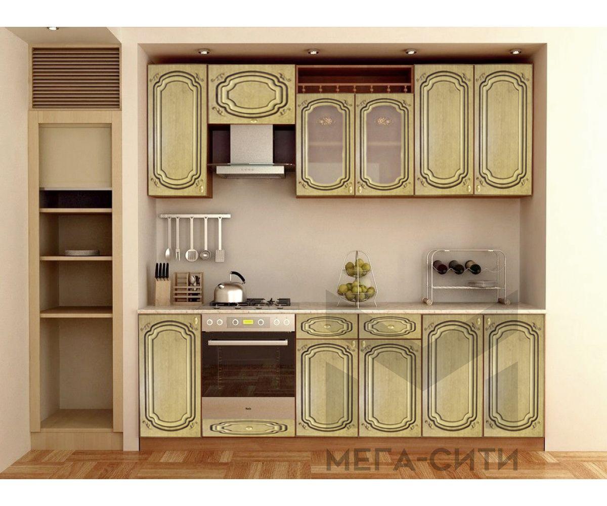 Кухонный гарнитур с патиной   ДИАНА