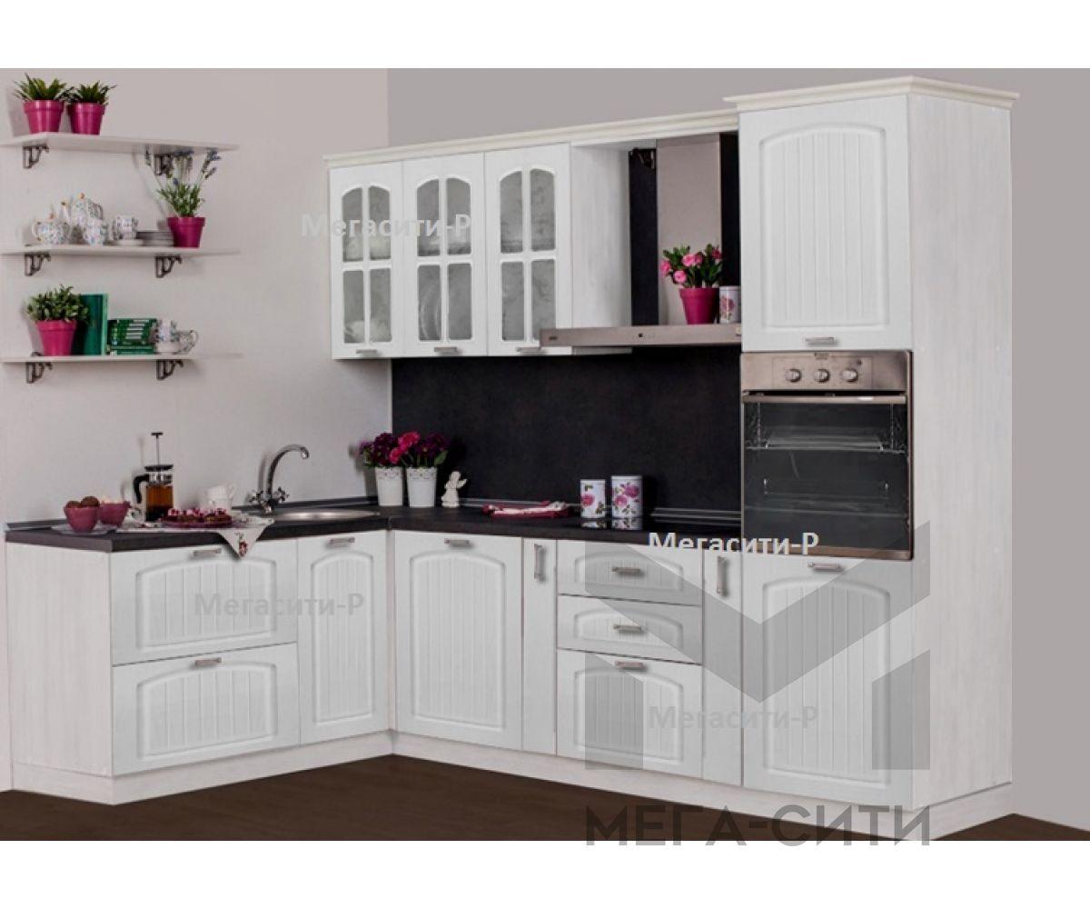Кухонный гарнитур Дарина 1,5х2,7м МДФ ПВХ матовая