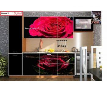 Кухонный гарнитур с фотопечатью Мария 13    3 м