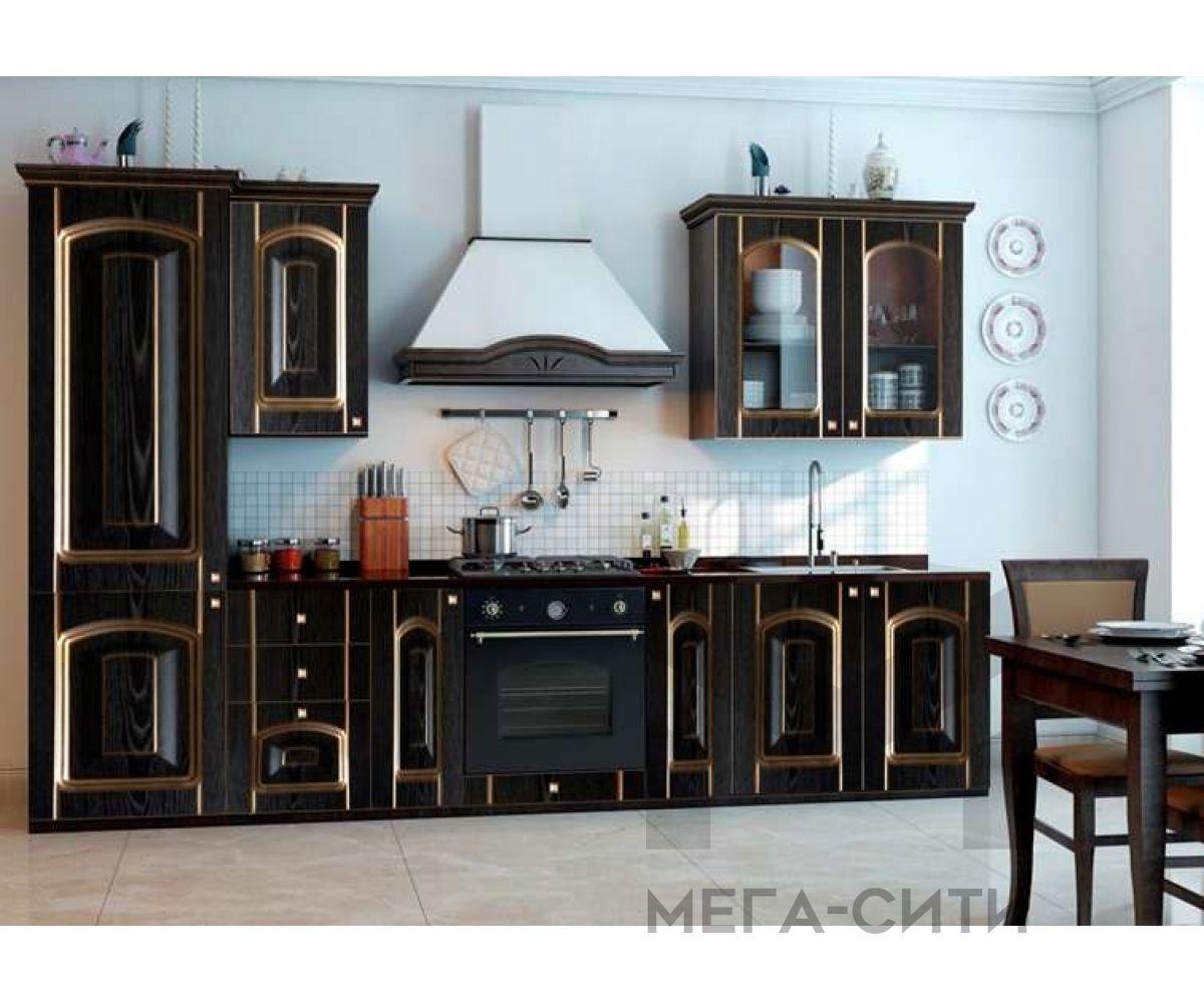 Кухонный гарнитур с патиной  Ирина 2,9 м Патина