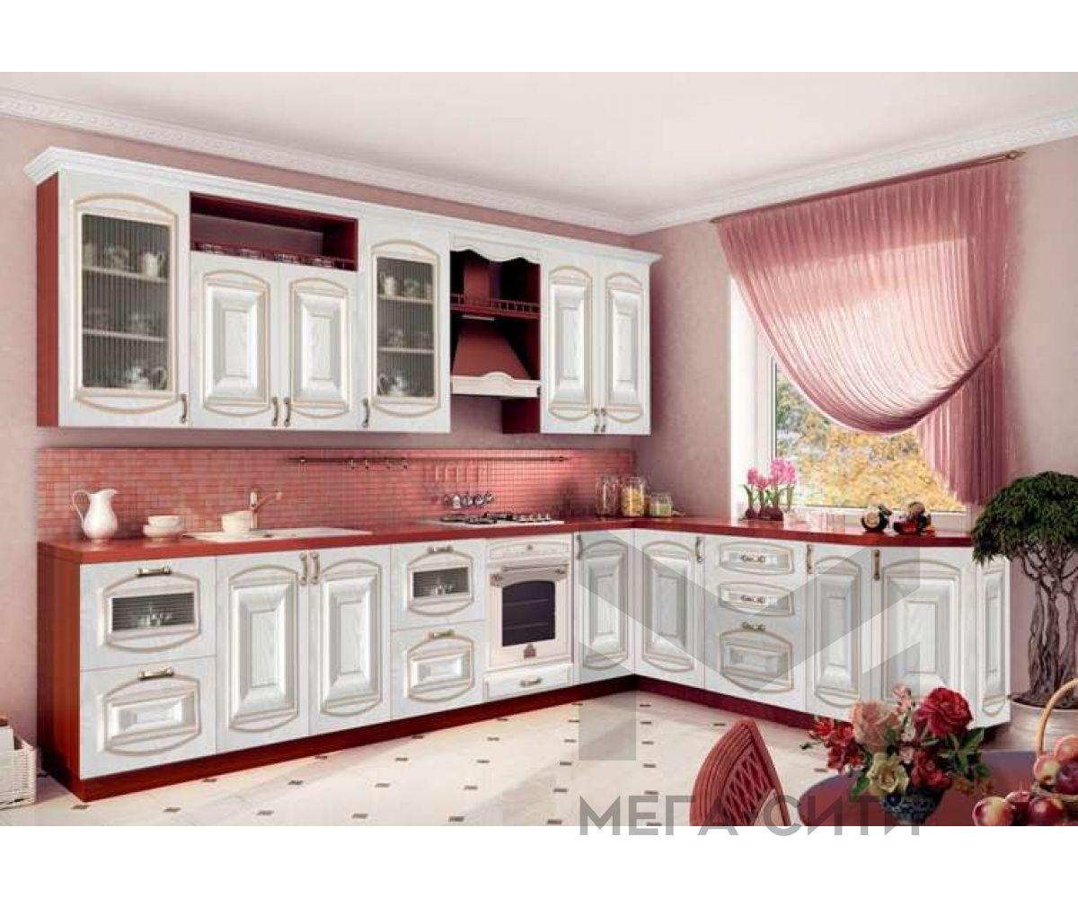 Кухня Изабель с патиной 3,0 х 2,1 м
