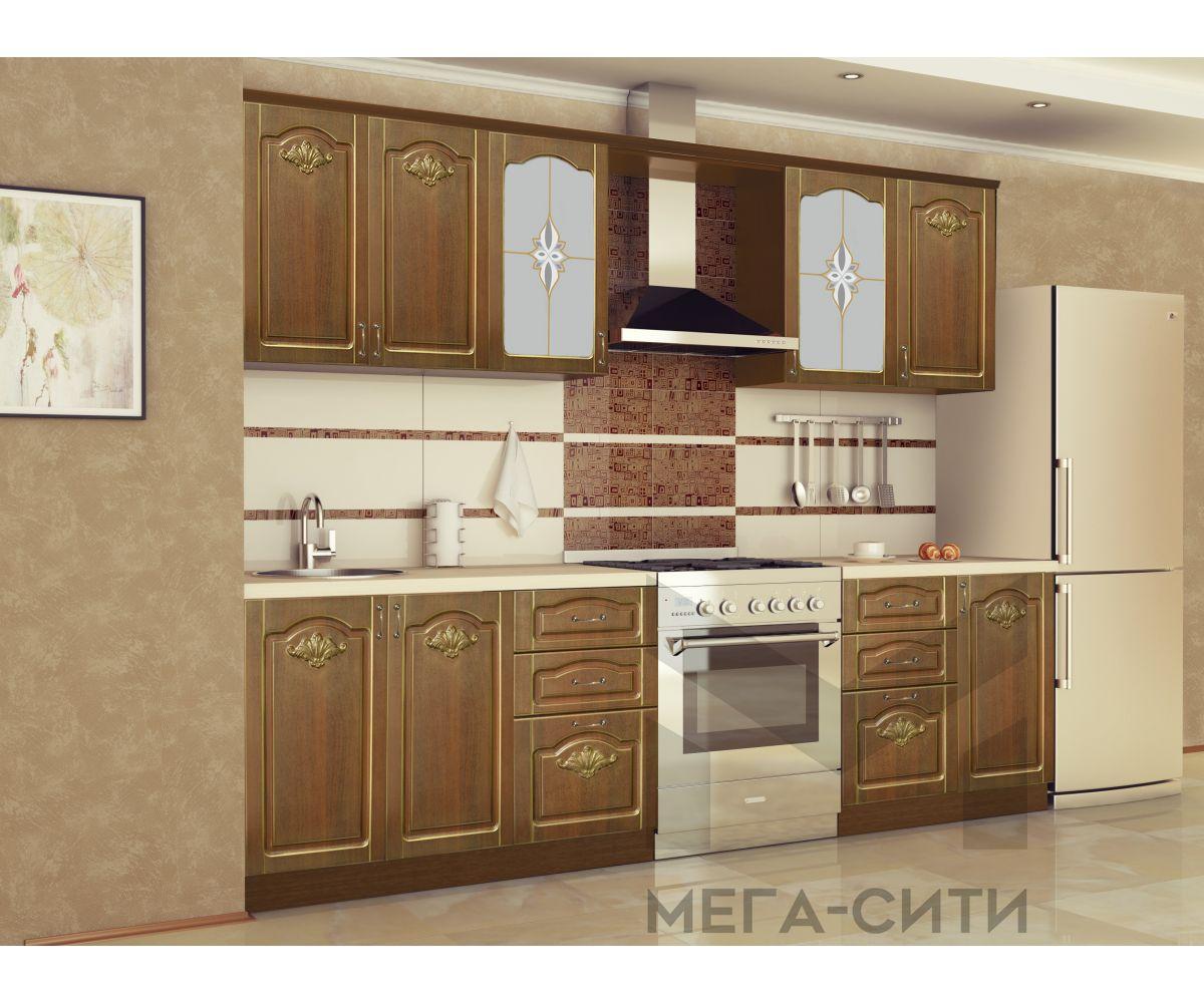 Кухонный гарнитур с патиной  КАМИЛА НОВИНКА