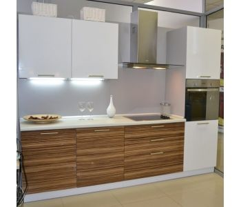 Кухня из пластика Клеопатра 2,6м