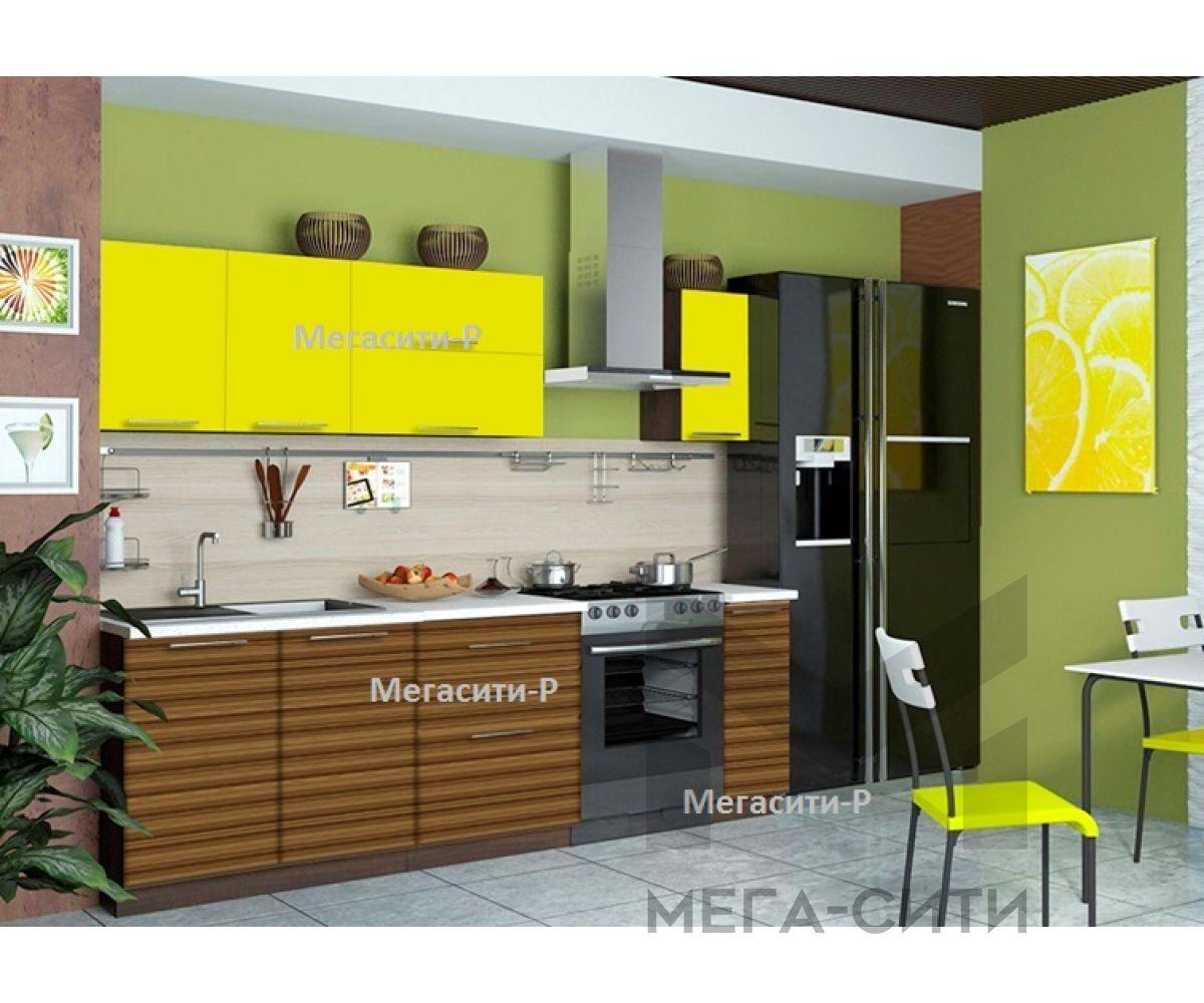 Кухонный гарнитур МДФ Лилия 1,8 м МДФ ПВХ глянец