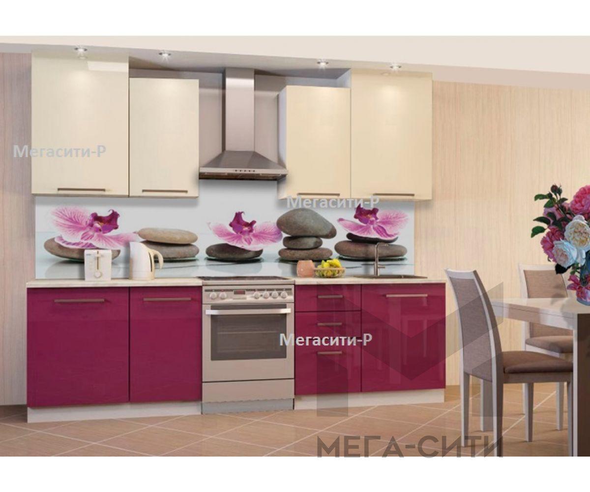 Кухонный гарнитур из пластика МАДЛЕН 2м