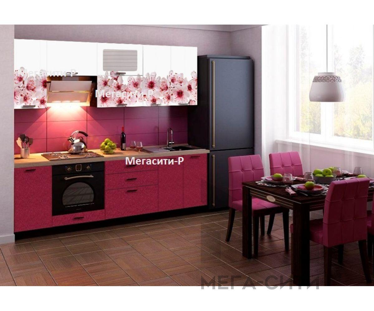 Кухонный гарнитур с фотопечатью  Мэри 2,0 М НОВИНКА