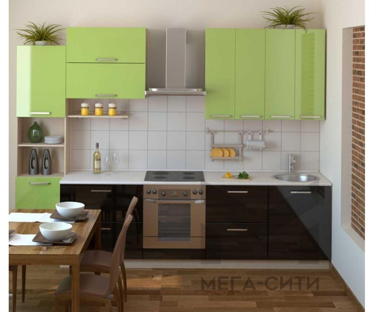 Кухонный гарнитур Нежность 3,0 м МДФ ПВХ глянец