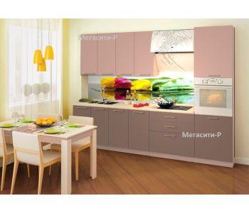Кухонный гарнитур МДФ Натали 2,6 м