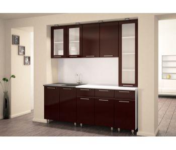 Кухонный гарнитур из пластика Сакура-26. 2 м