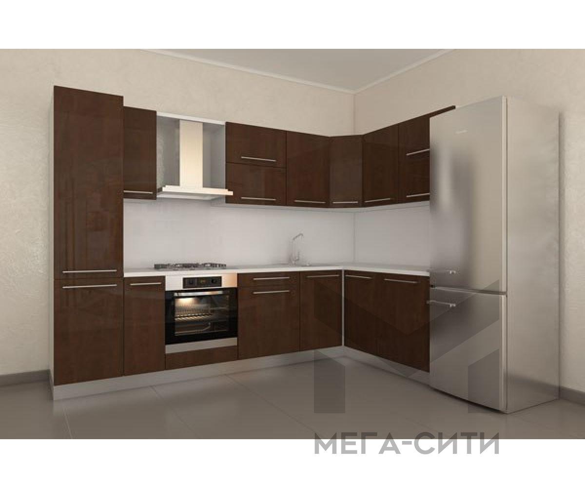 Кухонный гарнитур из пластика ШЕЙЛА 3*1,6М