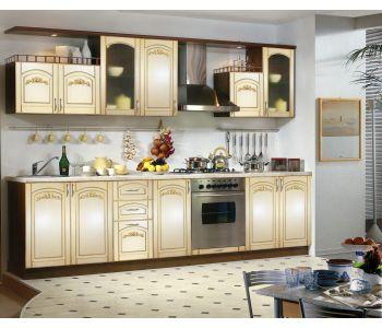 Кухонный гарнитур с патиной Сильвия