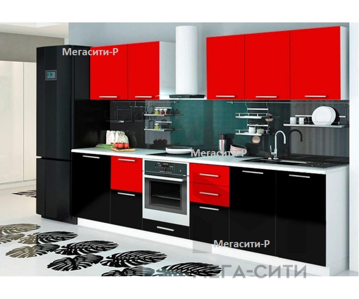 Кухонный гарнитур глянец Танго 2,8 м