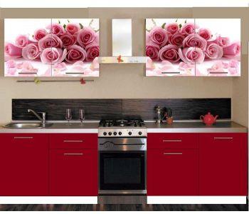 Кухня  с фотопечатью Валентина №11