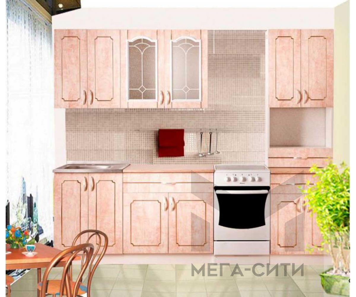 Кухонный гарнитур МДФ  эконом Веста 30  2 метра