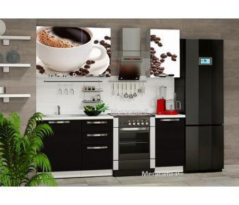 Кухня с фотопечатью  ВОСТОРГ 1,5 М