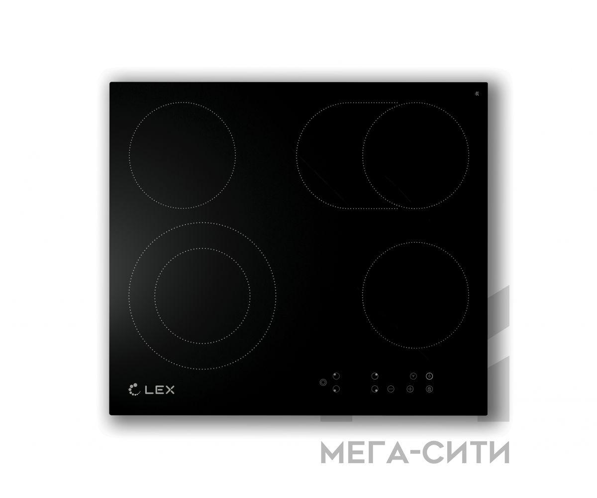 Варочная панель  электрическая  LEX LEX EVH 642 BL