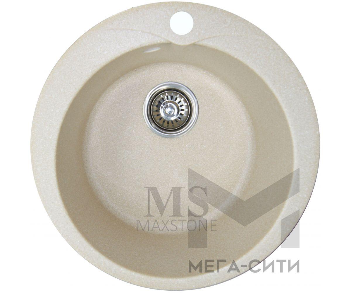 Мойка для кухни из искусственного камня МС-1 Ванильный камень