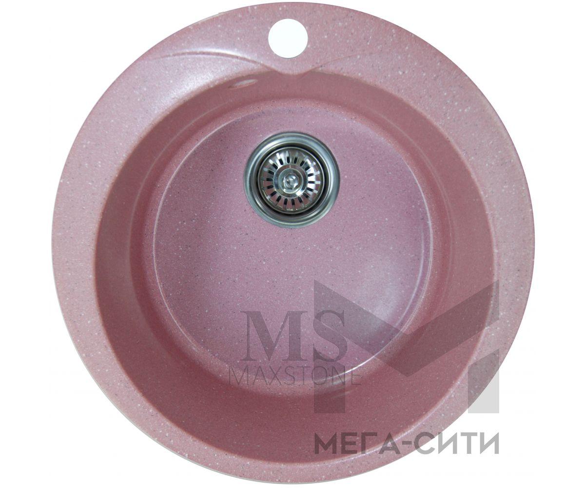 Мойка для кухни из искусственного камня МС-1 Розовый