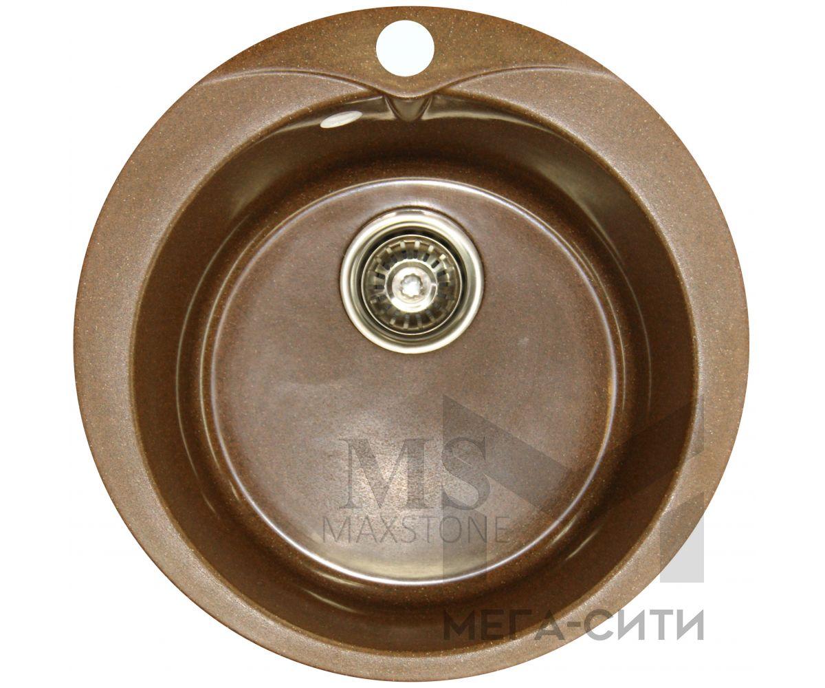 Мойка для кухни из искусственного камня МС-1 Шоколадная крошка