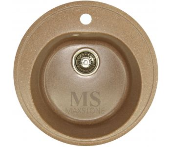 Мойка для кухни из искусственного камня МС-2 Терракот металлик