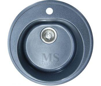Мойка для кухни из искусственного камня МС-2 Черный металлик