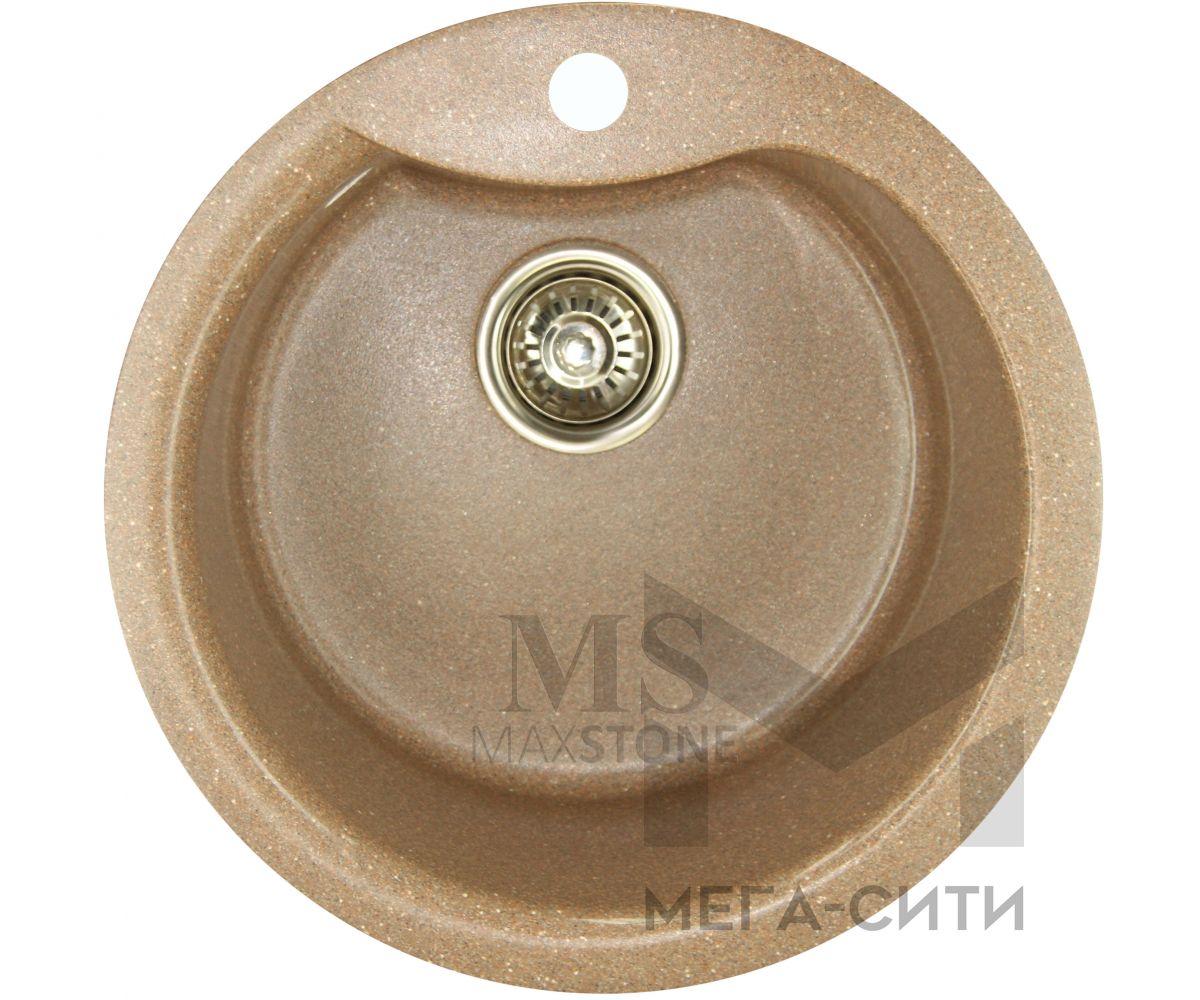 Мойка для кухни из искусственного камня МС-3 Терракот металлик