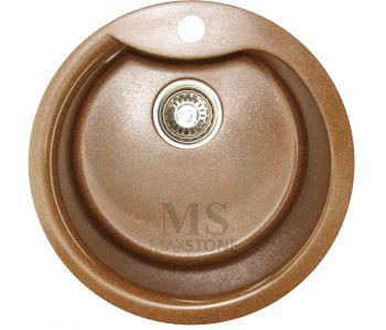 Мойка для кухни из искусственного камня МС-3 Шоколадная крошка